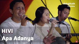 HIVI - Apa Adanya (with Lyrics) | BukaMusik