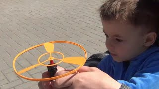 Launch helicopters Happy Flying  Amusment For Kids  Bogdan`s  Show Play
