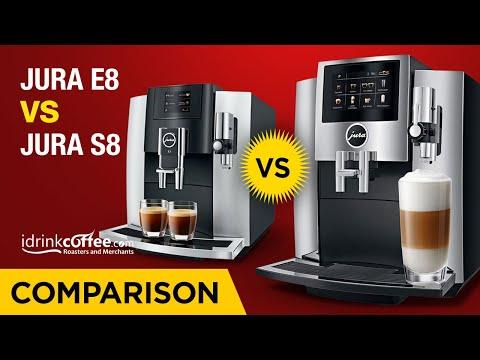 iDrinkCoffee.com Comparison - Jura E8 vs Jura S8