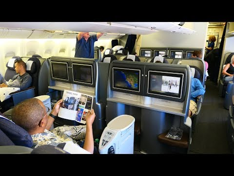United Airlines B777 First Class San Francisco to Honolulu (