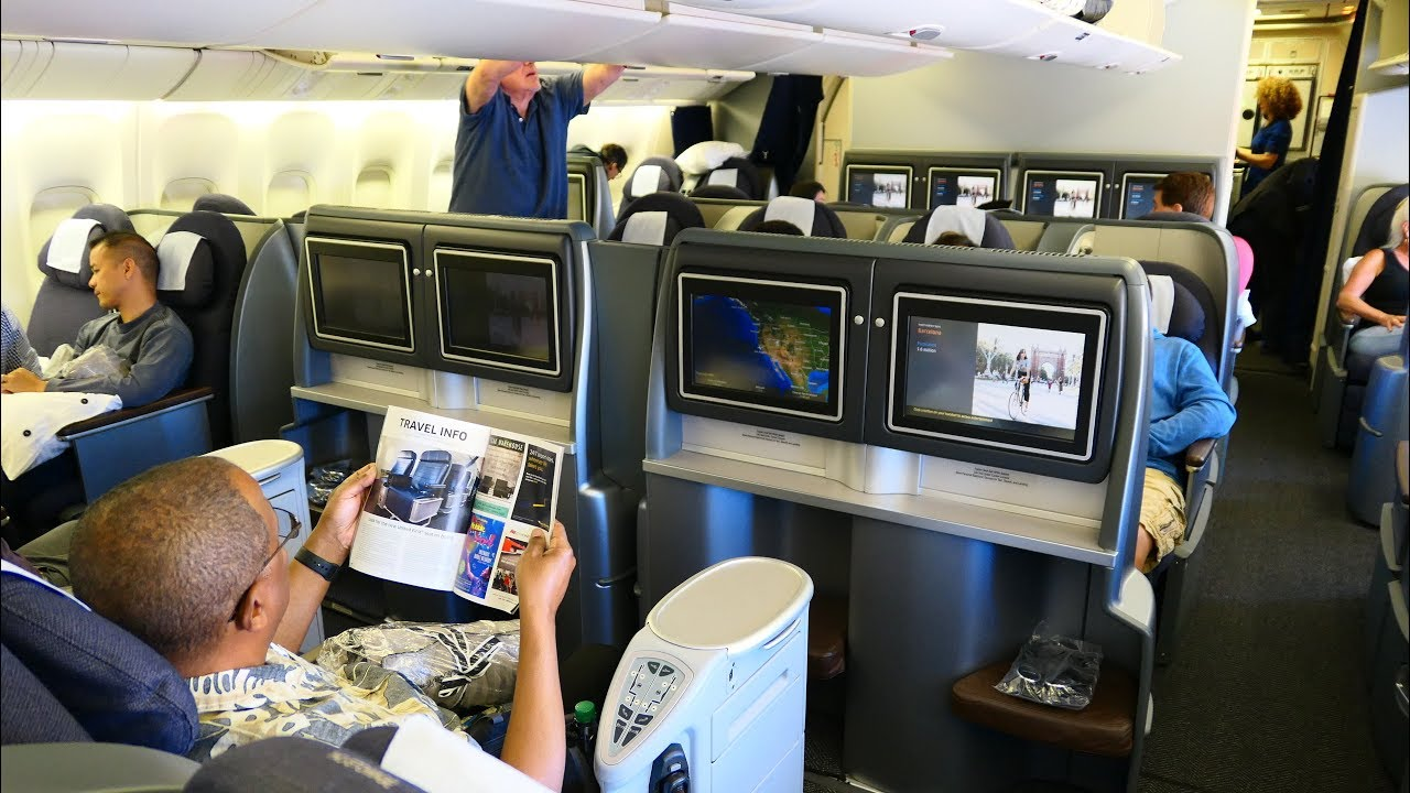 United Airlines B777 First Class San Francisco To Honolulu Oldest B777 In The World Youtube