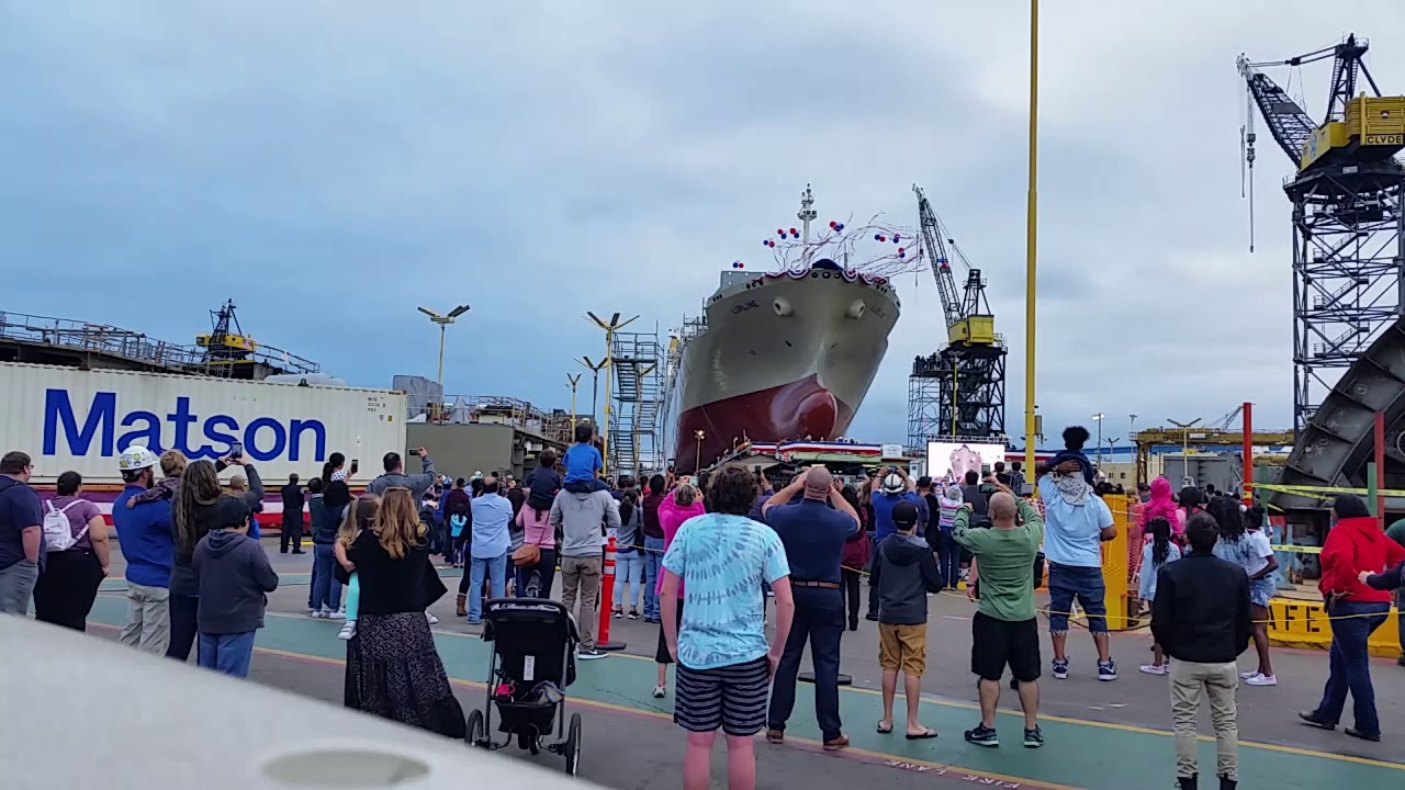 MATSON Lurline ship launch June 15 2019