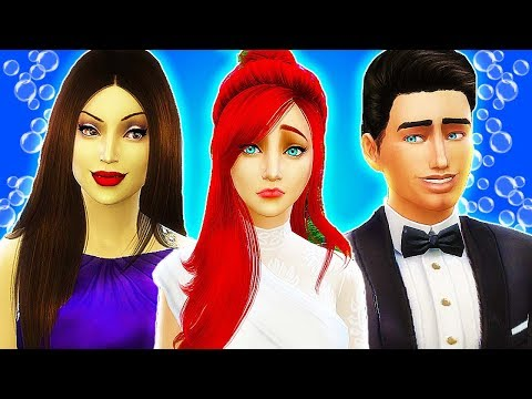 PRINCE ERIC MARRIES... ARIEL OR URSULA?! 👰💒 The Sims 4 Disney Villains Challenge #10