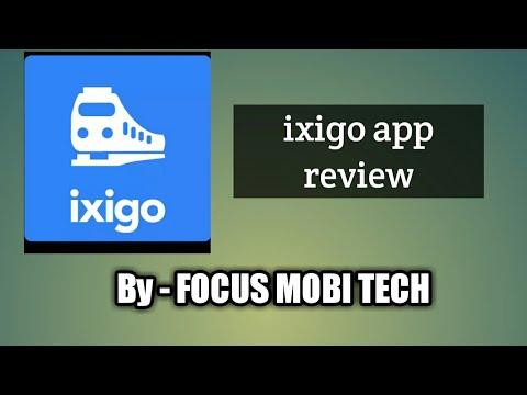 Ixigo trains- App Review