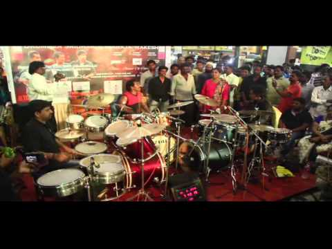 30 Hours Non - Stop Group Drumming Marathon By DRUM FIGHTERS