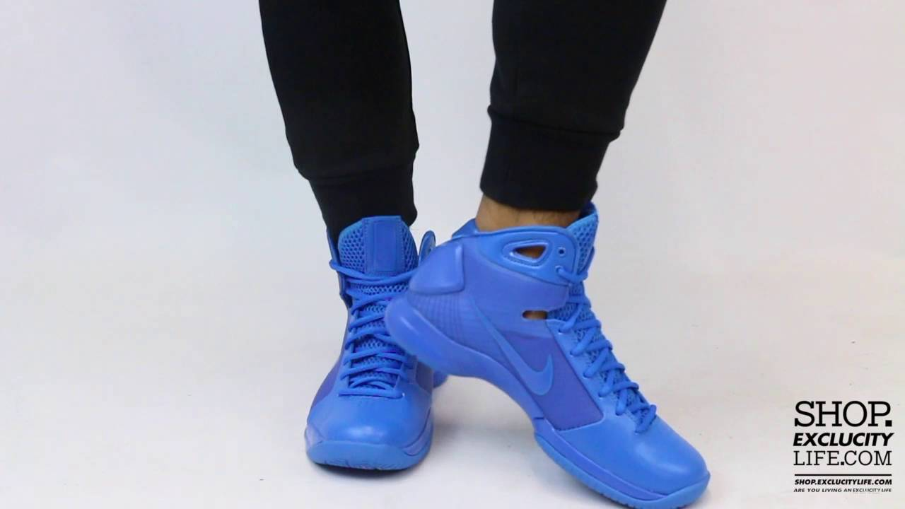 purchase cheap f9907 cccbd Nike Hyperdunk 08 Photo Blue On feet Video at Exclucity