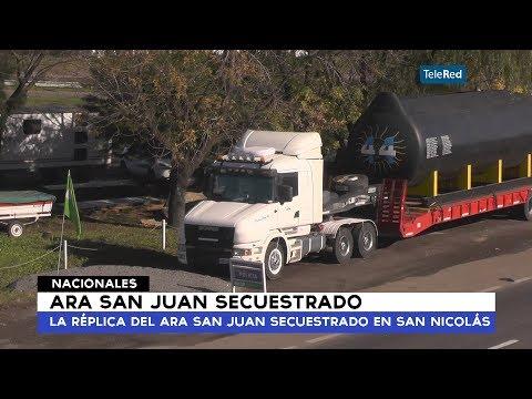 Ara San Juan, la réplica del submarino secuestrado en San Nicolás