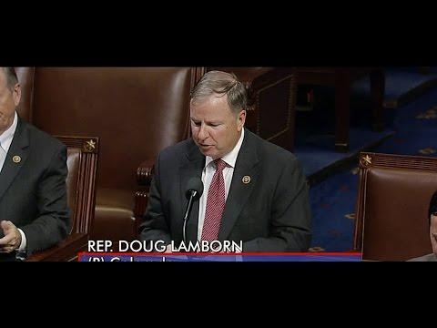 Special Order: National Bible Week Congressman Doug Lamborn 11.15.16