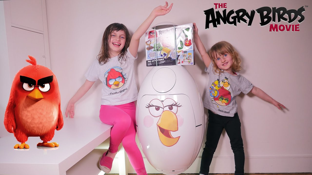 jouet angry birds oeuf surprise geant studio bubble tea unboxing angry birds giant surprise. Black Bedroom Furniture Sets. Home Design Ideas
