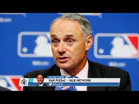 MLB Network Analyst Dan Plesac on Dan Le Batard & Rob Manfred's Heated Exchanged - 12/21/17
