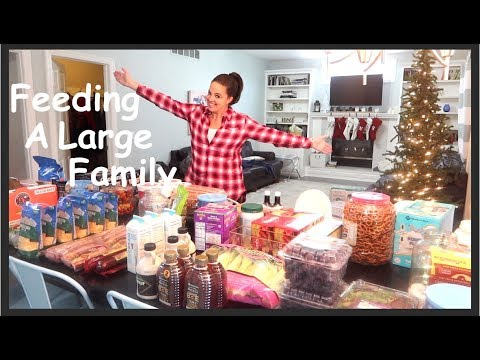 Once-A-Month Grocery Haul December - Family Of 12!!! Low Carb And Christmas