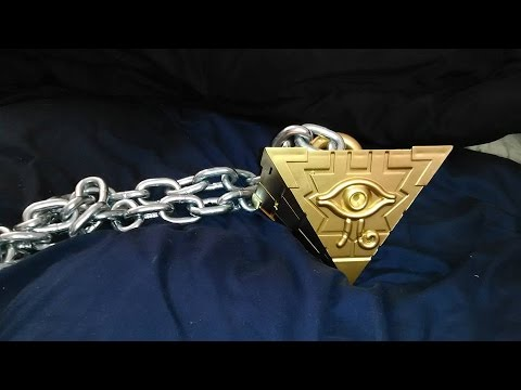 Real Yu-Gi-Oh! Millennium Puzzle!