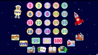 Starfall Numbers Learn to Count