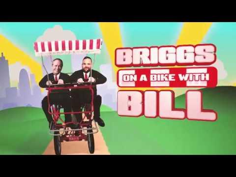 Briggs on a Bike with Bill Shorten