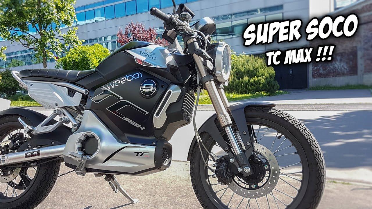 super soco tc max 125cc cafer racer electrique youtube. Black Bedroom Furniture Sets. Home Design Ideas