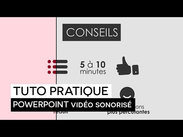 [TUTO PRATIQUE] :  Réaliser une vidéo de votre diaporama avec commentaires audio