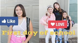Get ready with us | First day of school |