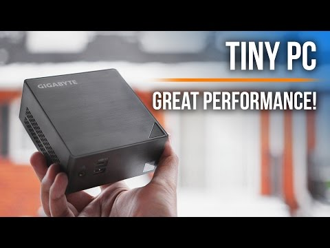 Gigabyte BRIX - A MINI Performance Monster?