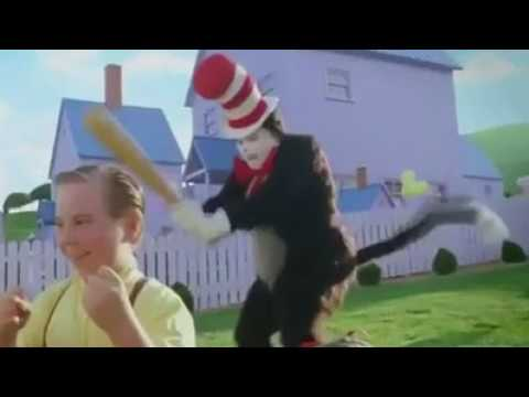3bcdb1be Cat In The Hat Meme (Baseball Bat) - YouTube