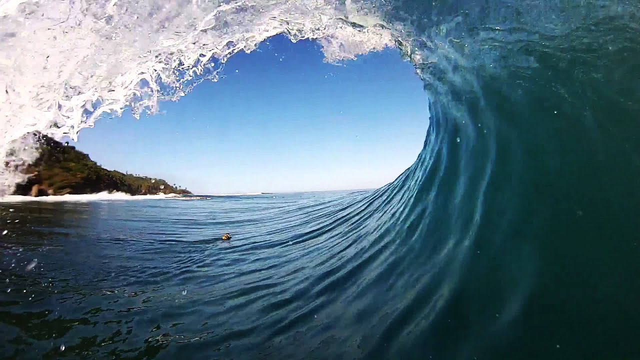 SURFING PUERTO RICO SLABS GOPRO POV APRIL 2015 - YouTube