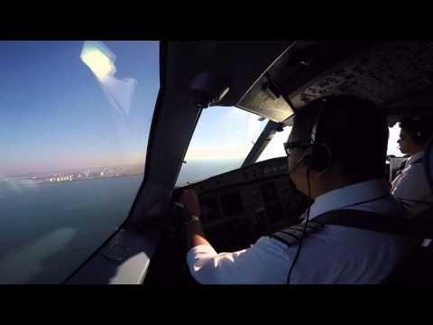 Landing at RJBB Kansai, 06R