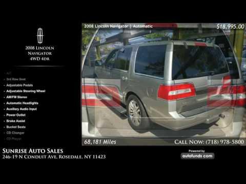 Used 2008 Lincoln Navigator | Sunrise Auto Sales, Rosedale, NY