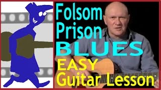 Easy Blues Guitar Lesson - Folsom Prison Blues