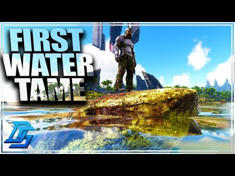 FIRST WATER TAME, WHERES PVP BEEN? - Ark Survival Evolved - Road to Aberration - Part 10