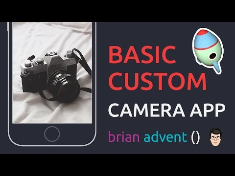 iOS Swift Tutorial: Basic Custom Camera App - AVFoundation