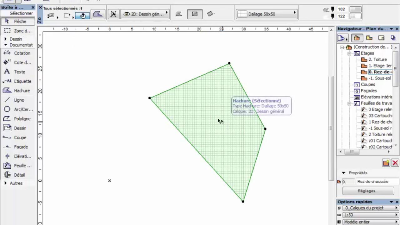 Comment Calculer Une Surface Sur Archicad