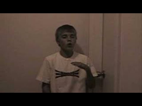 Justin singing Wait for You by Elliott Yamin