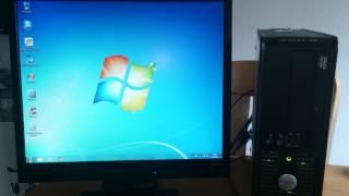 Opstarten van Dell Optiplex 745 met Windows 7