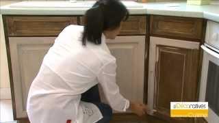 Video comment fixer une fa ade de meuble de cuisine for Recouvrir armoire cuisine
