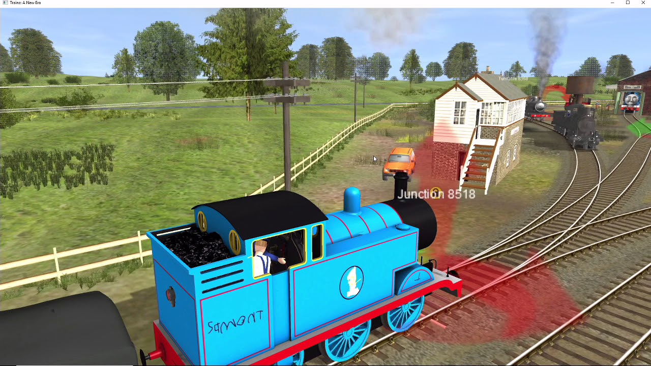 Trainz Short Lily Watches TV Thomas Beats Up The Timer By Seb R