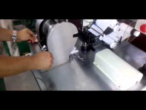 Wire Labeling Machine , Cable Label Applicator - YouTube