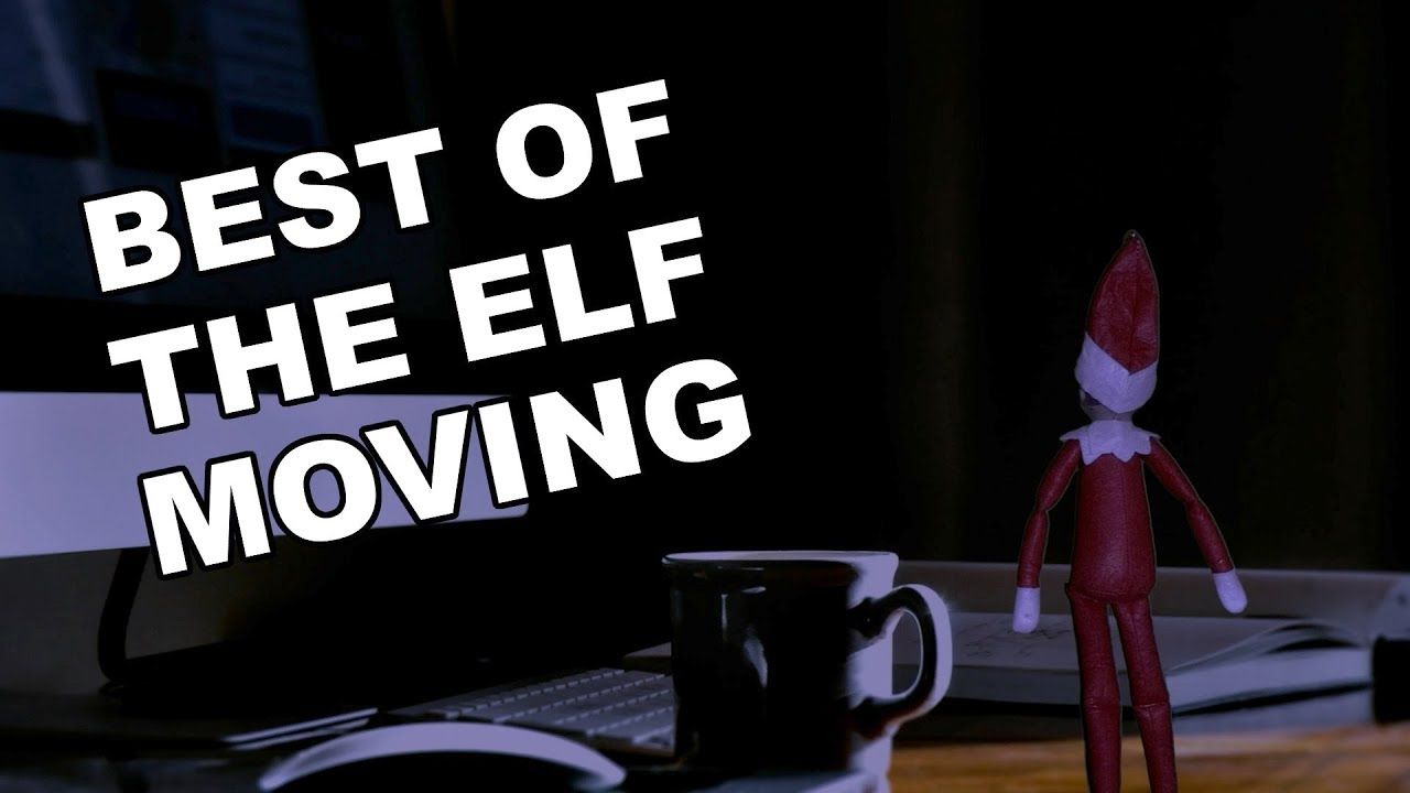 Elf On The Shelf Moving At Night Avalonit
