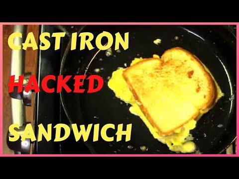 Fried Egg Sandwich, Scrambled Egg Sandwich Hack, Fast and Easy Recipe.