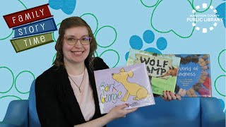 video thumbnail: Family Story Time - Dogs & Kindness!