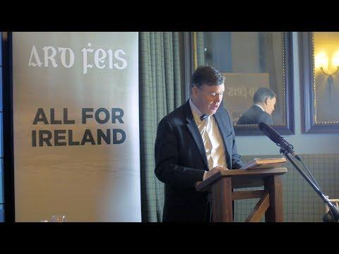 James Reynolds - Ard Fheis Speech - Reappraising Irish Nationalism