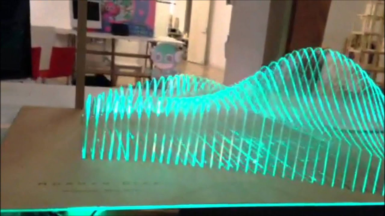 Digital fabrication relied on a gestural user interface for Technology architecture design