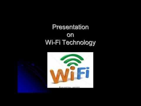 PPT Presentation on Wi Fi Technology