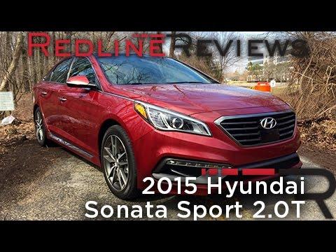 2015 hyundai sonata sport 2 0t redline review youtube. Black Bedroom Furniture Sets. Home Design Ideas