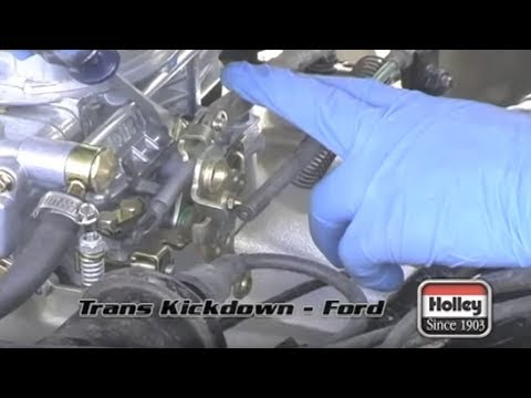 69 Ford F350 Wiring Diagram Setting The Ford Transmission Kickdown When Using A Holley