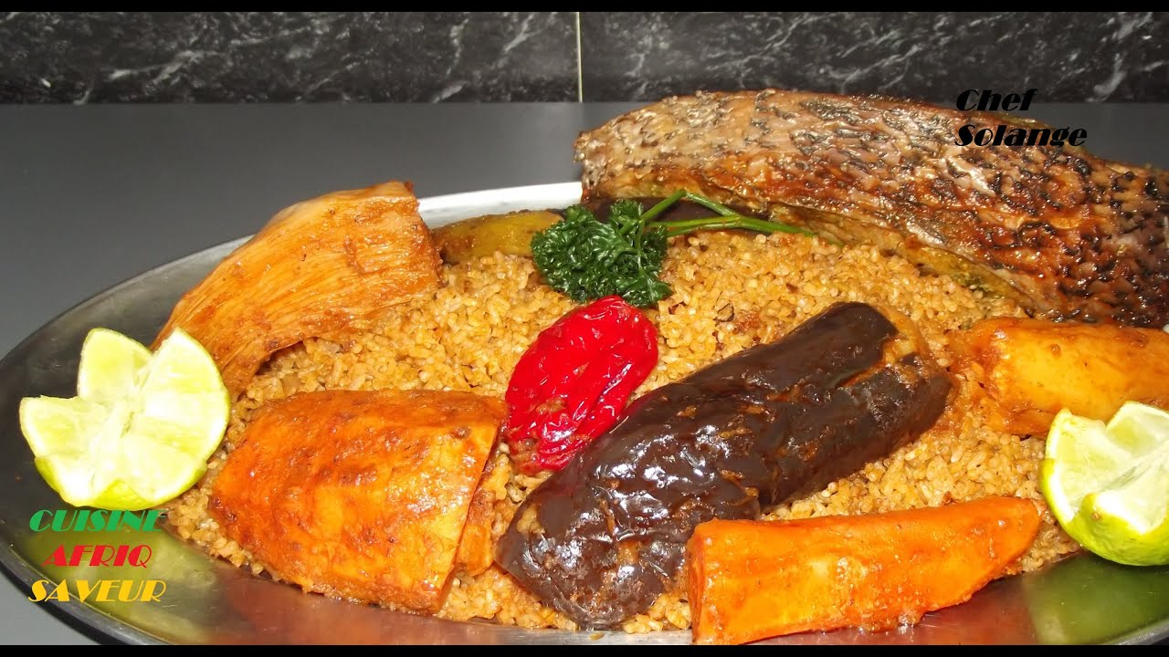 Africaine Cuisine Of Le Thi Boudienne Youtube