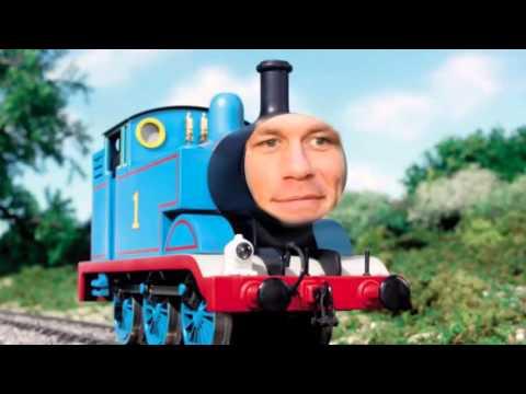 Mashup John Cena vs Thomas the Tank Engine  YouTube