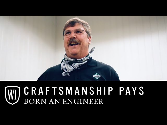 Craftsmanship Pays: Meet Charlie our Technical Director, Born an Engineer