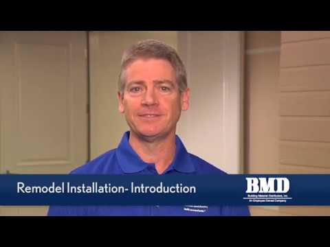 BMD Training Video Part 1 - Remodel Window Installation Video - Introduction