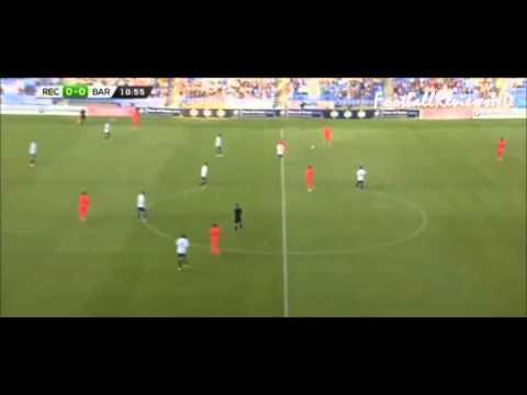 Alen Halilović Debut for Barcelona-amazing talent