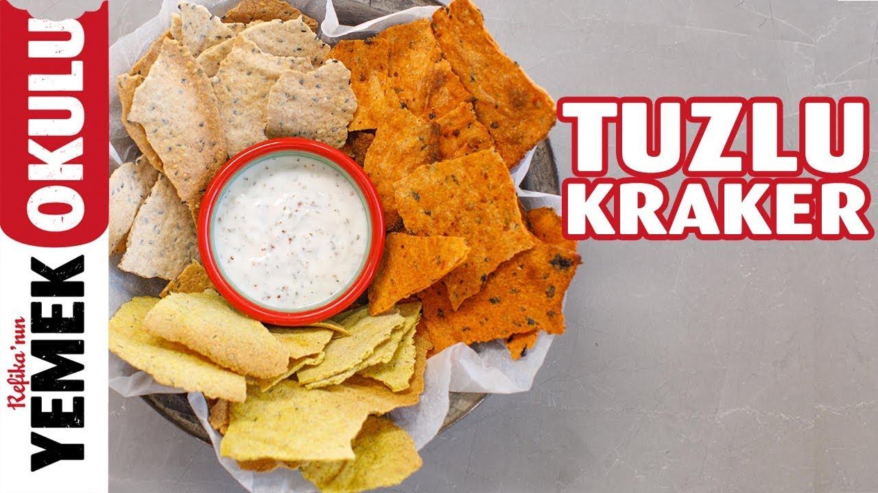 Tuzlu Kraker Tarifi | Evde Ekşi Mayalı Kraker Yapımı | Burak'ın Ekmek Teknesi