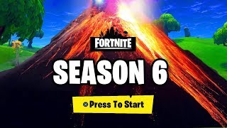 Fortnite SEASON 6 BATTLE PASS THEME LEAKS - NEW MAP LOOT LAKE AND NEW SKINS AND CUBE UPDATE